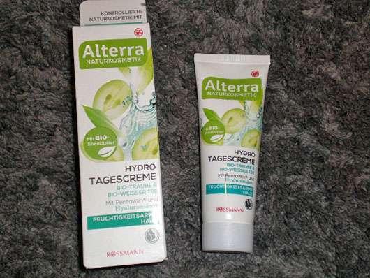 Alterra Hydro Tagescreme Bio-Traube & Bio-Weißer Tee