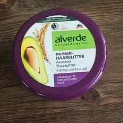 Produktbild zu alverde Naturkosmetik Repair-Haarbutter Avocado Sheabutter