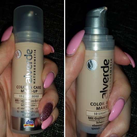 alverde Color & Care Make-Up, Farbe: 10 Light Beige