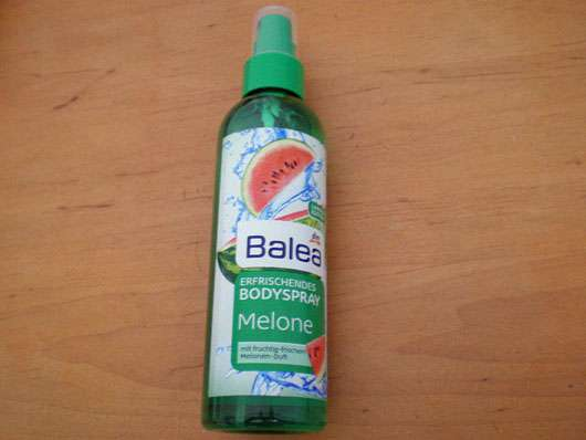 Balea erfrischendes Bodyspray Melone (LE)