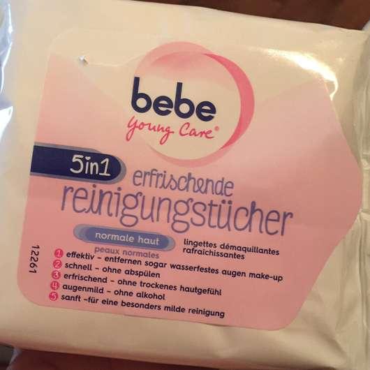 <strong>bebe® Young Care</strong> 5in1 erfrischende Reinigungstücher