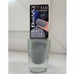 Produktbild zu BeYu Matt Color Nail Lacquer – Farbe: 110 Rolling Stone (LE)