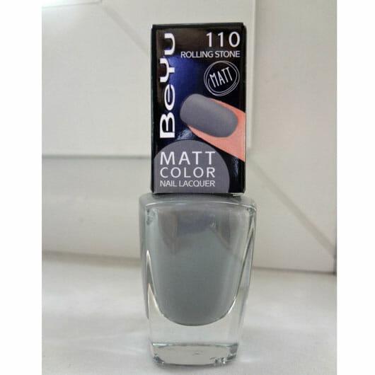 BeYu Matt Color Nail Lacquer, Farbe: 110 Rolling Stone (LE)