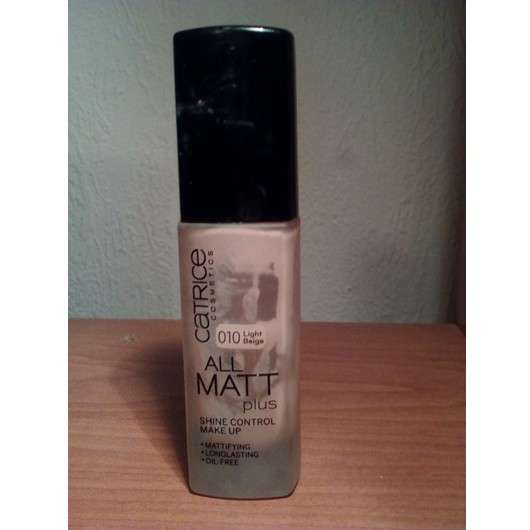 Catrice All Matt Plus Shine Control Makeup, Farbe: 010 light beige