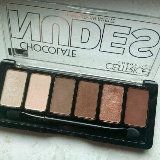 Catrice Chocolate Nudes Eyeshadow Palette, Farbe: 010 Choc'Let It Be