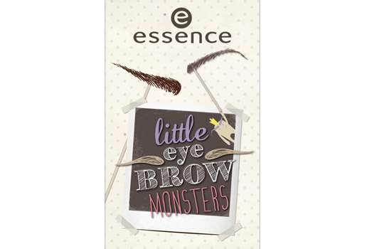 """essence trend edition """"little eyebrow monsters"""""""