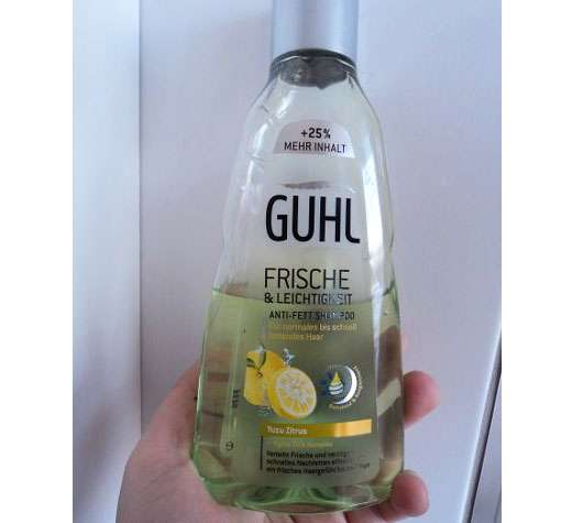 <strong>GUHL</strong> Frische & Leichtigkeit Anti-Fett Shampoo