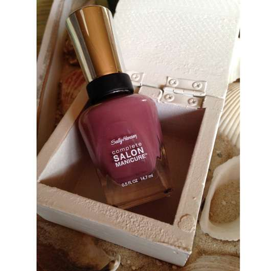 <strong>Sally Hansen</strong> Complete Salon Manicure Nagellack – Farbe: 360 Plum's The Word