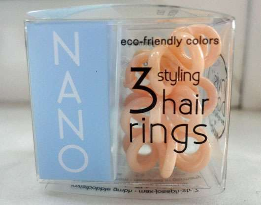 <strong>invisibobble</strong> NANO Collection Haargummi - Farbe: To Be Or Nude To Be