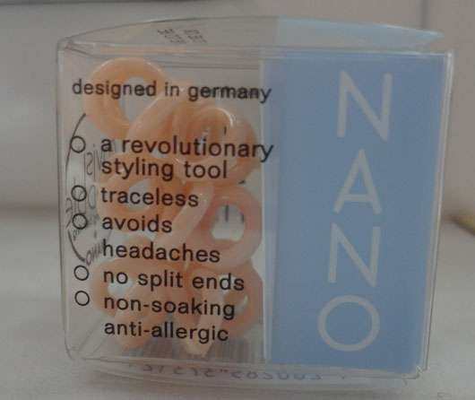 invisibobble NANO Collection Haargummi, Farbe: To Be Or Nude To Be