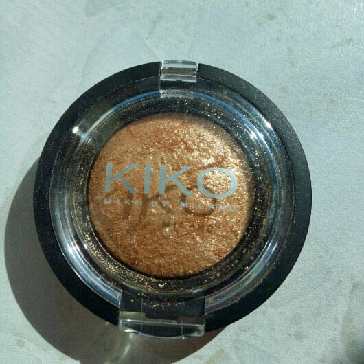<strong>KIKO</strong> Colour Sphere Eyeshadow - Farbe: 16 Gold Special FX