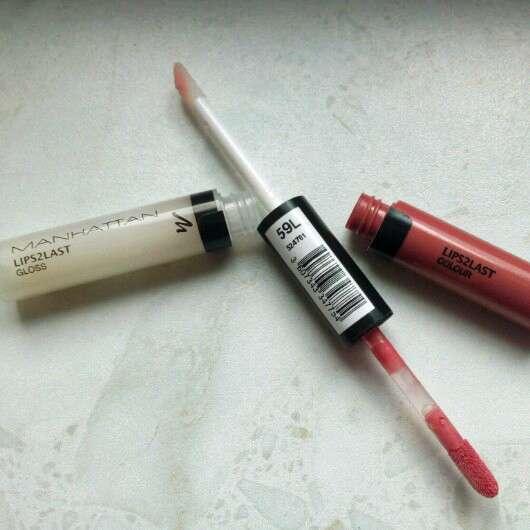 Manhattan Lips2Last Gloss, Farbe: 59L
