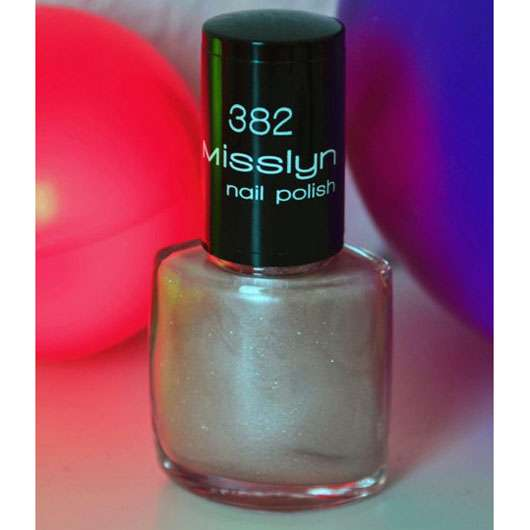 Misslyn nail polish, Farbe: 382 princess dress