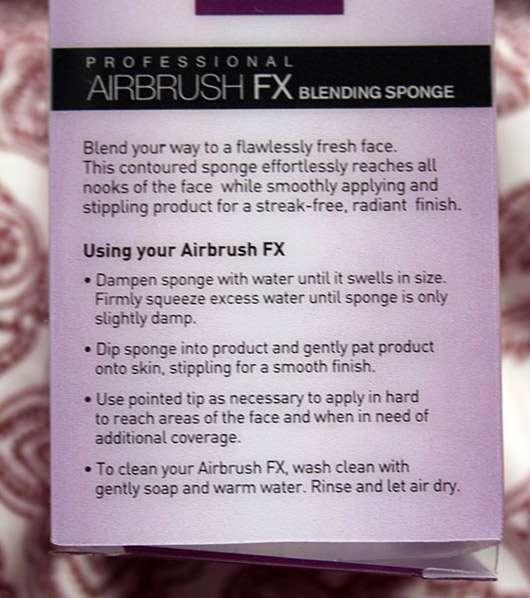 NICKA K NEW YORK Airbrush FX Blending Sponge