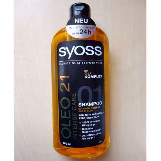 <strong>SYOSS OLEO 21</strong> Intense Care Shampoo