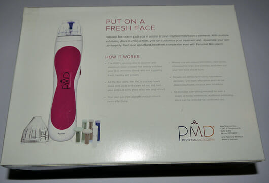 PMD Personal Microderm Microdermabrasion Set