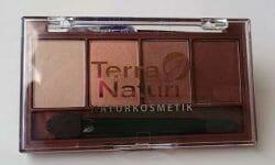 Produktbild zu Terra Naturi Naturkosmetik Quattro Eyeshadow – Farbe: 02 Golden Eyes