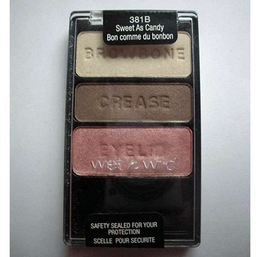 wet n wild Color Icon Eyeshadow Trio, Farbe: 381B Sweet As Candy