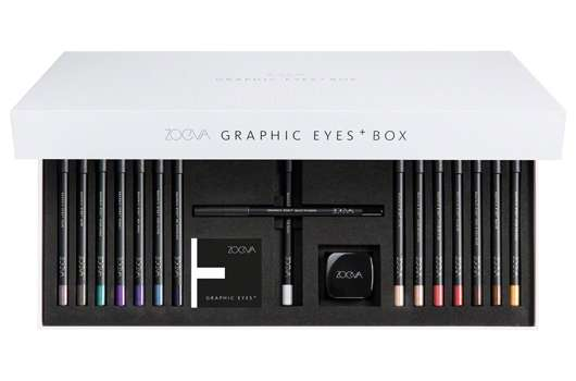 ZOEVA EXKLUSIVE LIMITIERTE GRAPHIC EYES+ BOX