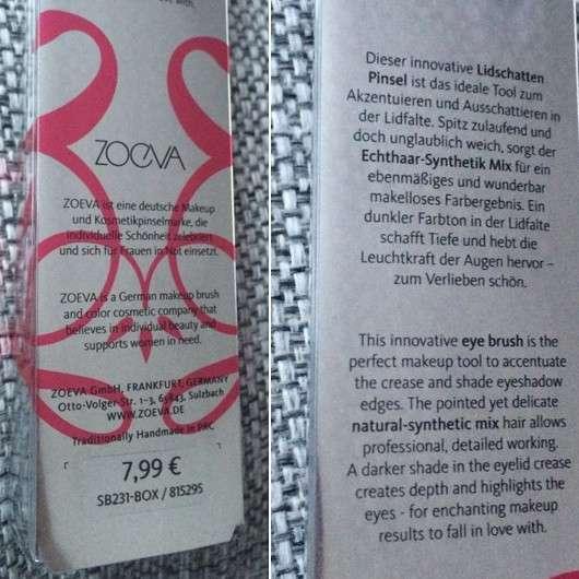 ZOEVA 231 Luxe Petit Crease