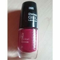 Produktbild zu ARTDECO 2Step Gel Lacquer Color Base – Farbe: 396 Berry Me
