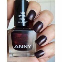 Produktbild zu ANNY Cosmetics Nagellack – Farbe: 486 046 private party (satin finish)