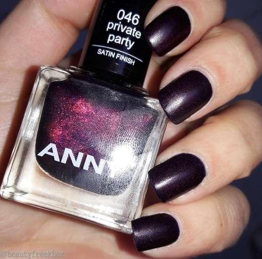 ANNY Nagellack, Farbe: 486 046 private party (satin finish)