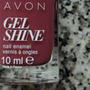 AVON Gel Shine Nagellack, Farbe: Mauvelous