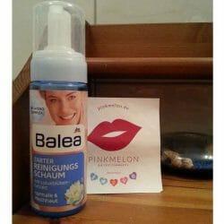 Produktbild zu Balea Zarter Reinigungsschaum mit Lotusblütenextrakt (normale & Mischhaut)