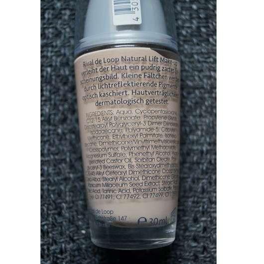 Rival de Loop Natural Lift Make-up, Nuance: 01 Light Beige
