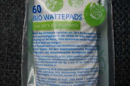 ISANA 60 Bio Wattepads