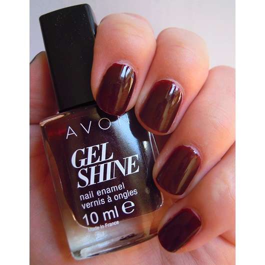 Avon Gel Shine Nagellack, Farbe: Wine And Dine Me