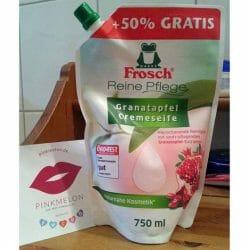 Produktbild zu Frosch Granatapfel Cremeseife (Nachfüllpack)