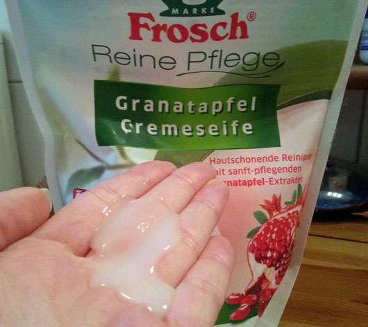 Frosch Granatapfel Cremeseife (Nachfüllpack)