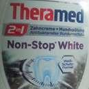 Theramed 2in1 Zahncreme + Mundspülung Non-Stop White