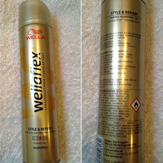 <strong>wellaflex</strong> Style & Repair Haarspray (Design Edition)