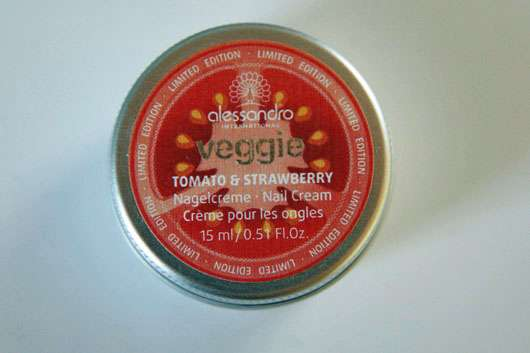 <strong>alessandro International</strong> veggie tomato & strawberry Nagelcreme (LE)