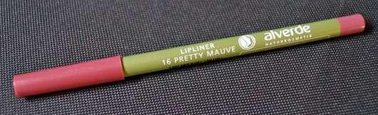 alverde Lipliner, Farbe: 16 Pretty Mauve