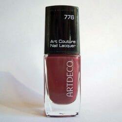 Produktbild zu ARTDECO Art Couture Nail Lacquer – Farbe: 776 Couture Red Oxide