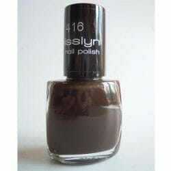 Produktbild zu Misslyn nail polish – Farbe: 416 double chocolate