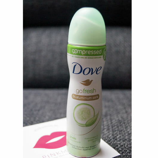 Dove go fresh compressed Deo-Spray Grüner Tee- & Gurkenduft