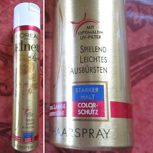 L'ORÉAL PARiS Elnett de Luxe Haarspray Color Schutz