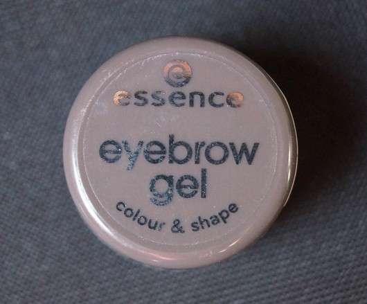 essence eyebrow gel colour & shape, Farbe: 01 brown