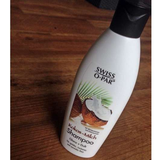 SWISS O PAR Kokos-Milch Shampoo