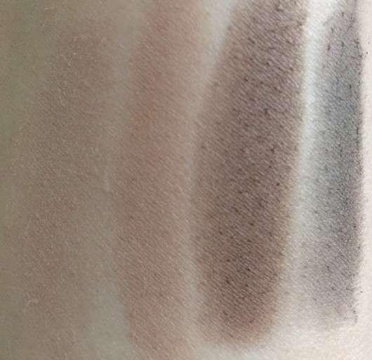 alverde Lidschatten Quattro - Farbe: Nougat Shades