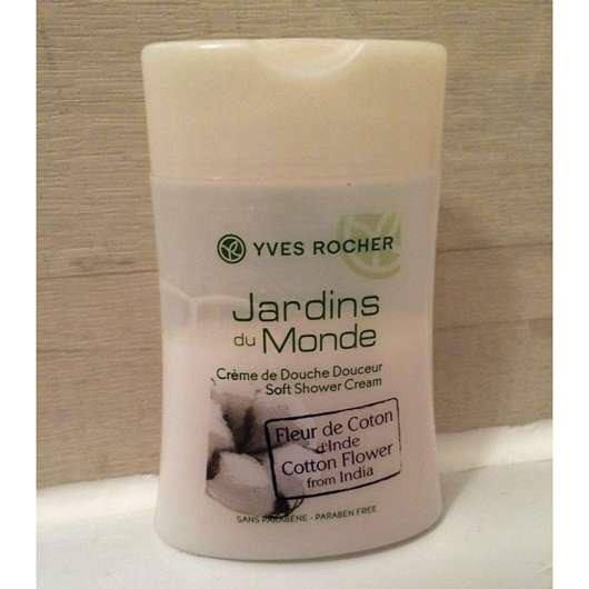 Yves Rocher Jardins du Monde Baumwoll-Blüte aus Indien Duschcreme