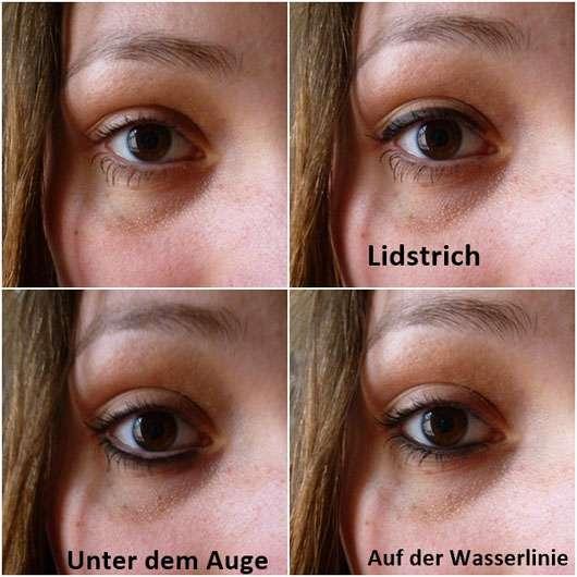 just cosmetics master stay gel eyeliner, Farbe: 010 lamb black