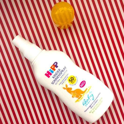 <strong>HiPP Babysanft</strong> Kinder Sonnenspray LSF 50+