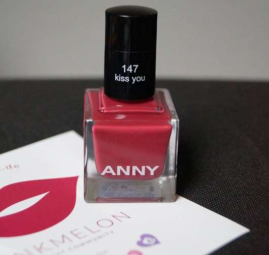 ANNY Nagellack, Farbe: 147 kiss you