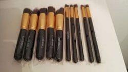 Produktbild zu Luxebell 10pcs Make-up Pinsel Set